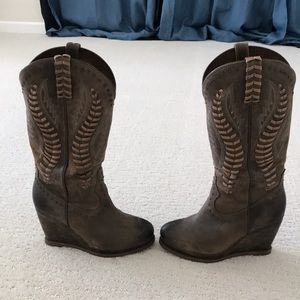 Ariat tall wedge boots